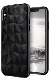 Blun 3D Prism Shape Back Case For Nokia 6.1 Black