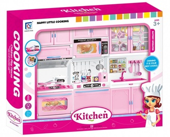 Askato Happy Little Cooking Kitchen Pink 106366