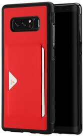 Dux Ducis Pocard Series Premium Back Case For Samsung Note 8 Red