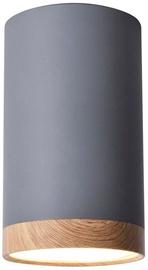 Candellux Tube Downlight 9W LED 4000K 15cm Gray /Wood