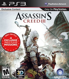 Assassin's Creed III PS3