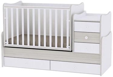 Bertoni Lorelli Bed MAXI PLUS White/Light Oak