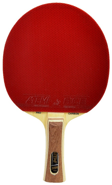 Atemi Ping Pong Racket Carbon 300 Concave