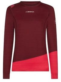 La Sportiva Woman Long Sleeve Top Dash Wine/Orchid L