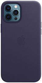Apple MagSafe Leather Back Case For Apple iPhone 12 Pro Max Deep Violet