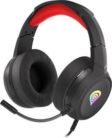 Genesis Neon 200 Over-Ear Gaming Headset Black