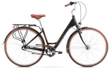"""Jalgratas Romet Moderne 3 2128666, pruun/must, 17"""", 28"""""""