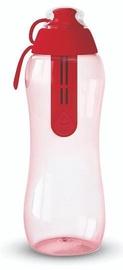 Dafi Filter Water Bottle 0.3l Red