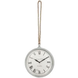 SN Quartz Wall Clock 25x29cm White