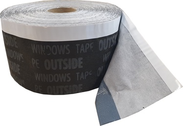 Soudal Window Trim Strip EC70 UV Black 70mm 25m