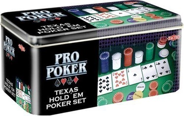 Настольная игра Tactic ProPoker Texas Hold'em Set - Tin