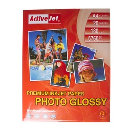 ActiveJet Photo Paper A4 180 Gloss 20 Pages