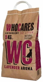 Geohellas Who Cares Lavender Cat Litter 5kg