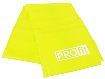 PROfit Fitness Rubber Long Light Yellow 200x15x0.35cm