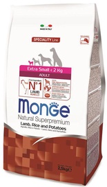 Monge Speciality Line Adult Extra Small Lamb & Rice 2.5kg