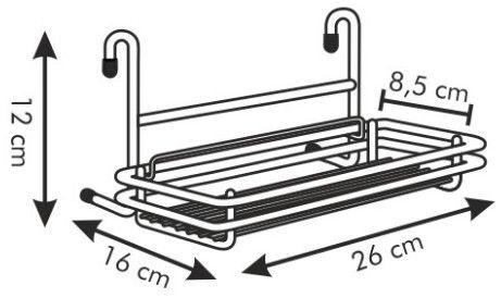 Tescoma Monti Rack 26 x 12cm
