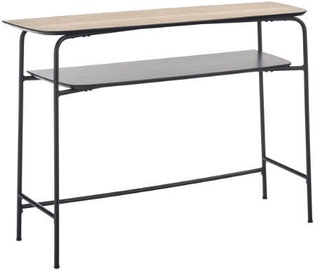 Halmar Genua KN1 Console Table Ash/Black
