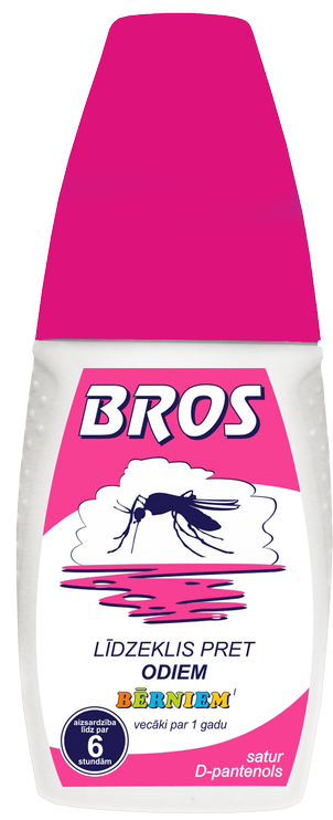 Bros Kids Spray Against Mosquitoes 50ml