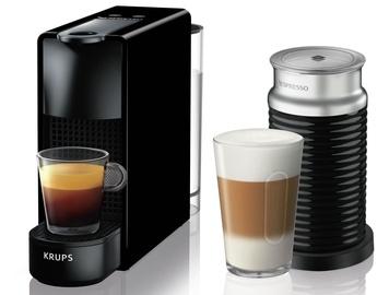 Krups Nespresso Essenza Mini & Aeroccino3 Coffee Machine Black
