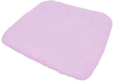 Mähkimismati kate Lulando Terry M, 75x65 cm, valge/roosa