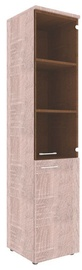 Skyland Xten Office Cabinet XHC 42.2 Right Sonoma Oak