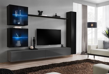 ASM Switch XVIII Wall Unit Black/Graphite