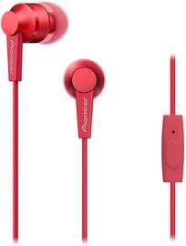 Pioneer SE-C3T In-Ear Earphones Red