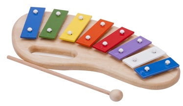 New Classic Toys Music Instrument Xylophone With Handle 10210