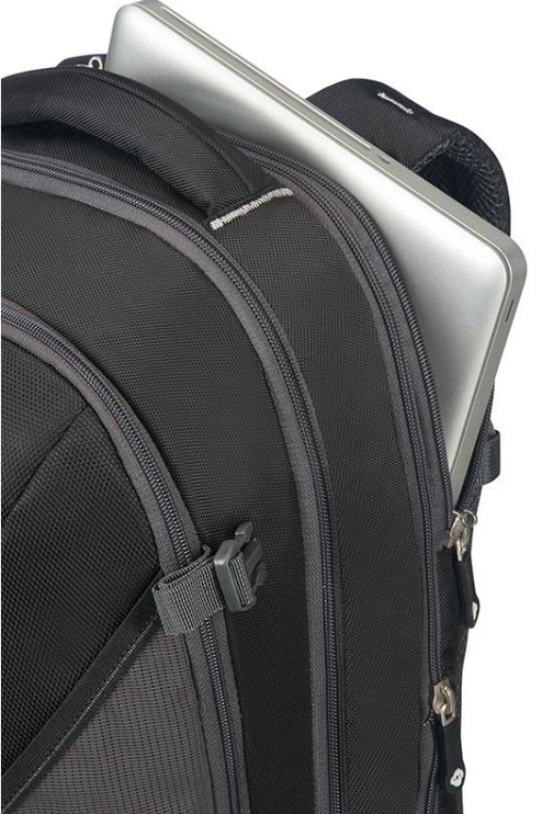 "Samsonite Travel Notebook Backpack For 16"" Black/Grey"