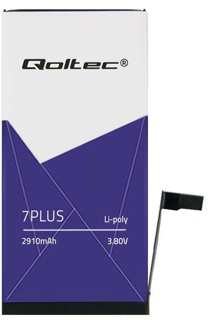 Qoltec Battery For Apple iPhone 7 Plus 2910mAh