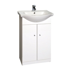 Deftrans Nice 50 Cabinet With Sink White