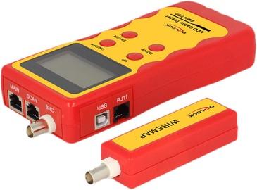 Delock RJ-45 / RJ-12 / BNC/ USB Cable Tester w/ LCD Display