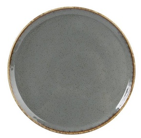 Porland Seasons Pizza Plate D32cm Dark Grey