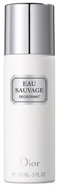 Meeste deodorant Christian Dior Eau Sauvage Spray, 150 ml
