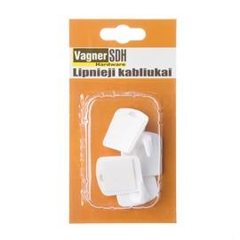 Vagner SDH Plastic Hooks Set 42 4pcs White