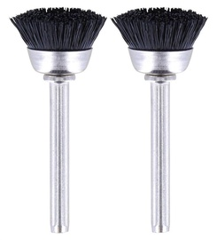 Dremel 404 Nylon Bristle Brush 2pcs