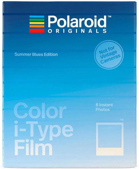 Polaroid Color 600 Film Summer Blues Edition