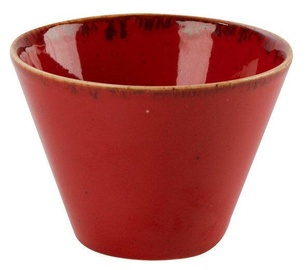 Porland Seasons Conical Bowl D11.5cm Red