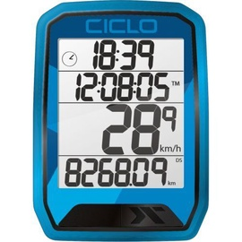 CicloSport Protos 213 Wireless Bike Computer Blue
