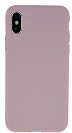 Mocco Ultra Slim Soft Matte Back Case For Apple iPhone XS Max Light Pink