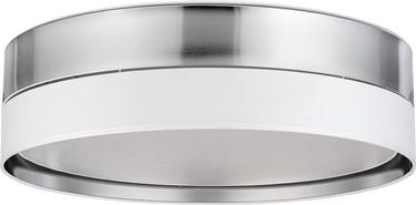 TK Lighting Hilton Silver 4179 Ceiling Lamp 4x15W E27 Silver/White