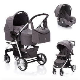 Fillikid Lion Universal Stroller 3in1 Dark Grey