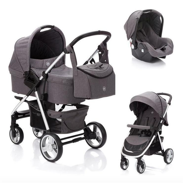 Fillikid Lion Universal Stroller 3in1 Dark Grey