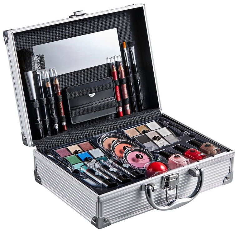 2K All About Beauty Train Case 60.2g