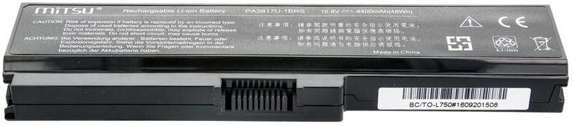 Mitsu Battery For Toshiba L700/L730/L750 4400mAh