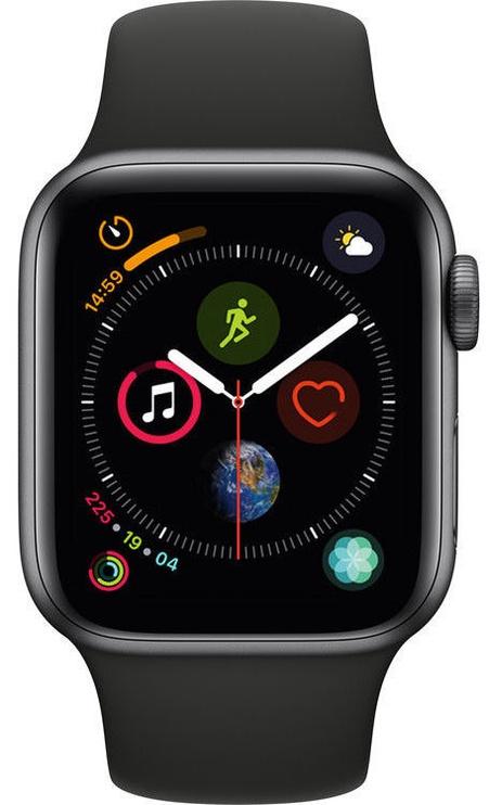 Apple Watch Series 4 40mm Aluminum Grey/Black Band