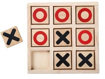 Lauamäng Gerardos Toys Wooden Tic Tac Toe, EN/EE/LV/LT/RUS