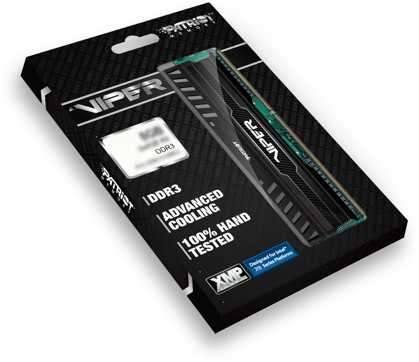 Operatiivmälu (RAM) Patriot Viper3 Black PV316G186C0K DDR3 (RAM) 16 GB