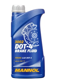 BRAKE FLUID MANNOL DOT-4 1 L