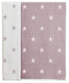 Rätik Ardenza Terry Stars Purple, 70x120 cm